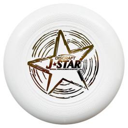 Discraft JuniorStar - White - Ultimate Frisbee