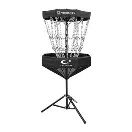 Latitude 64° ProBasket Go - Disc Golf Kurv - Sort