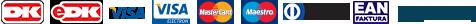 Betal med Betalingskort / MobilePay, Faktura og EAN-nummer