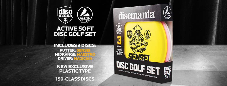 Discmania Active Disc Golf Startersæt