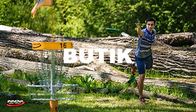 Disc golf og ultimate frisbee butik